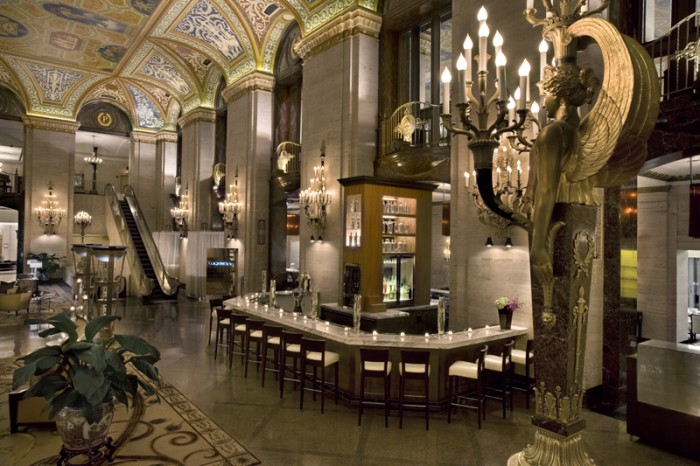 Image result for palmer house hilton lobby