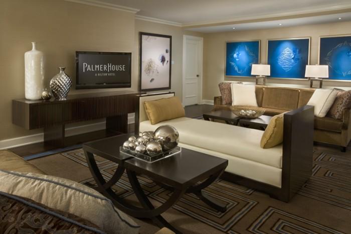 Elegant ... Potter Palmeru0027s Suite Living Room ...