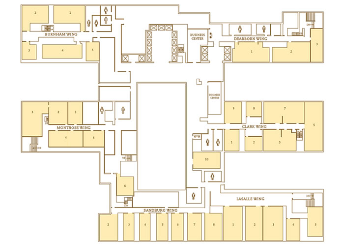Floor Plans Capacity Charts Palmer House