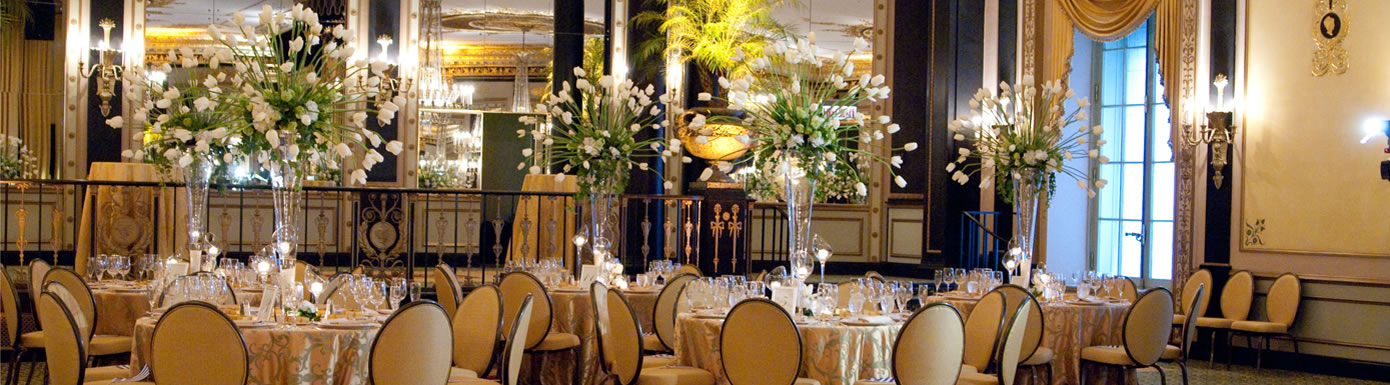 Chicago Wedding Package Palmer House Weddings
