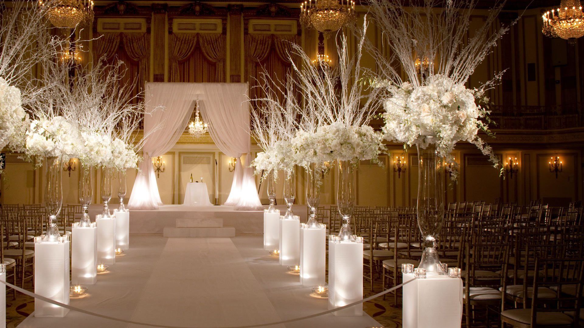 Chicago Weddings Palmerhouse Ballroom