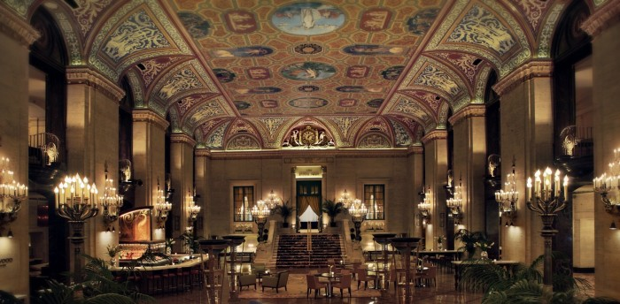 Downtown Chicago Hotel Palmer House Hilton Il