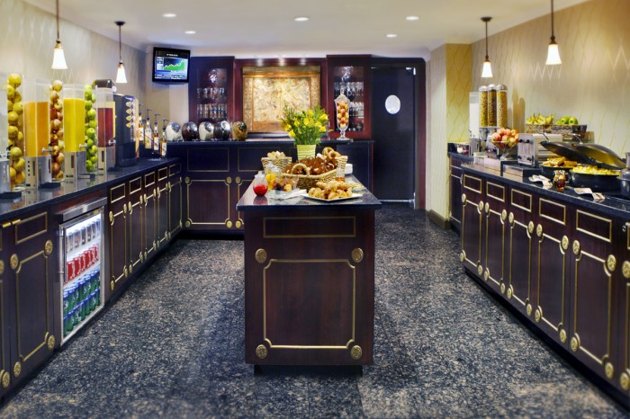 Huber-Executive-level-food-Area-700x466 Palmer Home Imagers Ociated Designs on